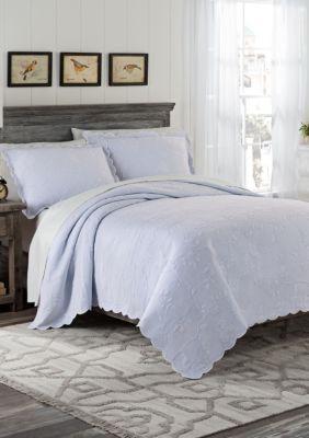 Coverlet Peace of Mind Paisley 100/% Cotton Quilt set,Bedspread