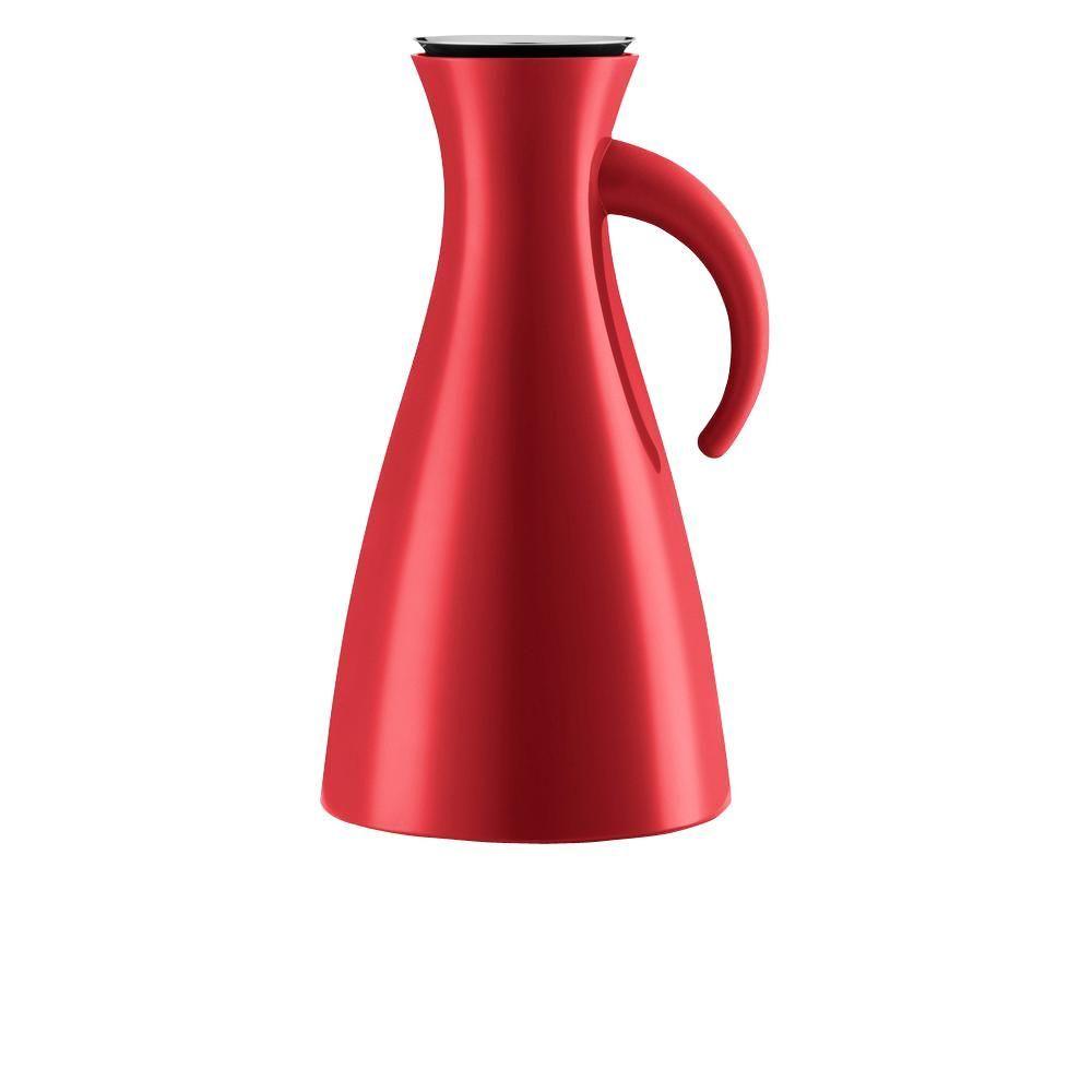 Eva Solo 33 oz. Plastic Jug with Vacuum Glass Insert in Red 502913 #plasticjugs 33 oz. Plastic Jug with Vacuum Glass Insert in Red #plasticjugs