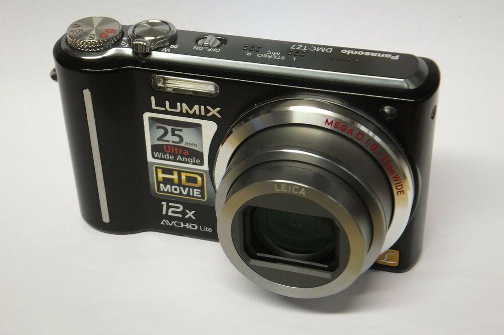 Panasonic Lumix Dmc Tz7 Digitalkamera Leica Objektiv Gebraucht Tz 7 Leica Panasonic Lumix Stuff To Buy
