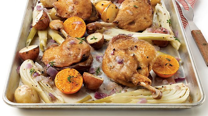 Cassolettes de canard confit et de poires caramélisées de Christian Bégin