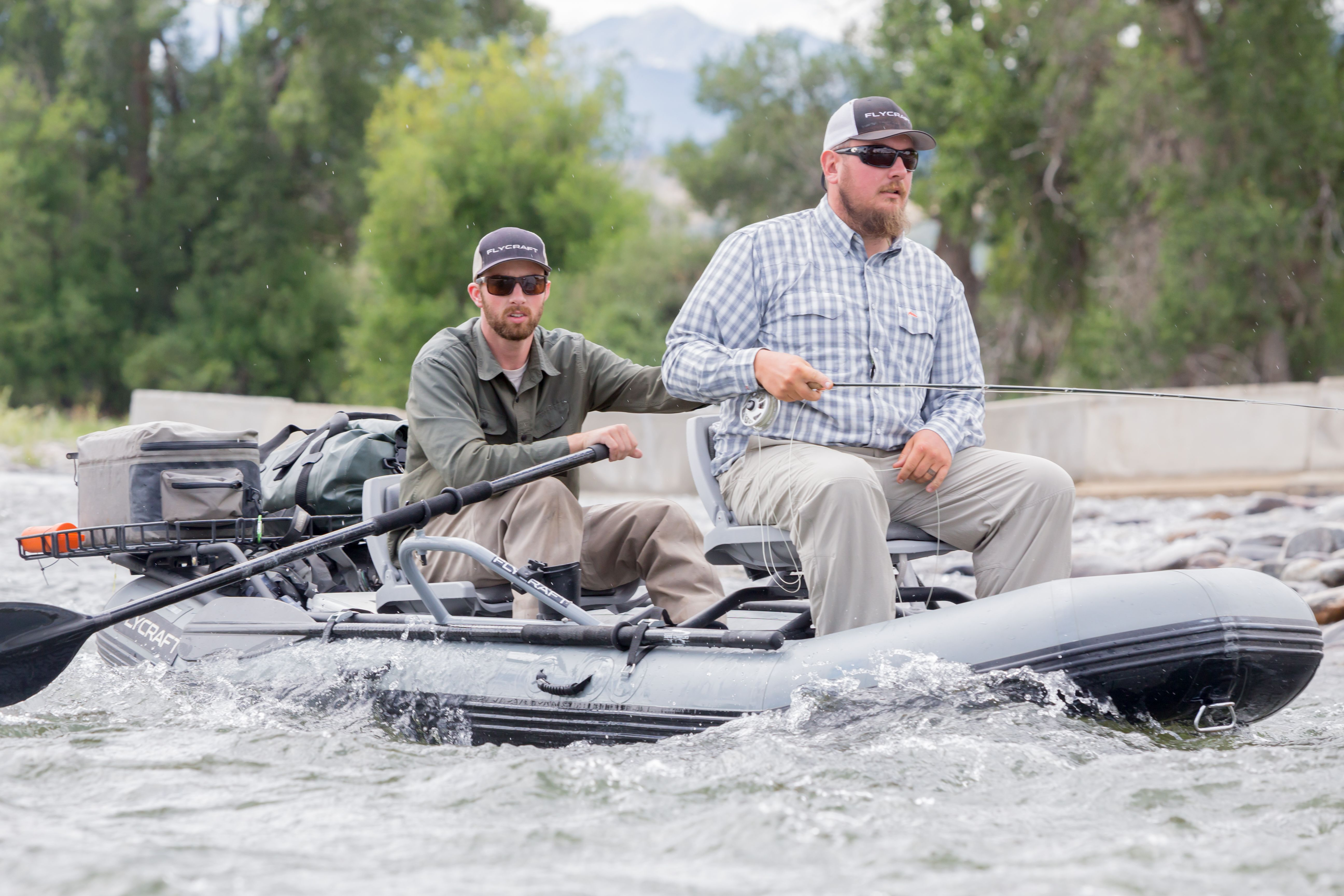 the flycraft in action out in montana flycraft photos pinterest