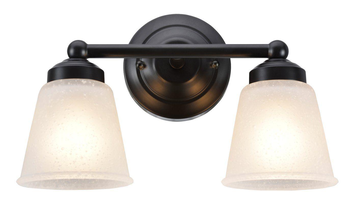 Aspen Creative Corporation 2-Light Vanity Light & Reviews | Wayfair