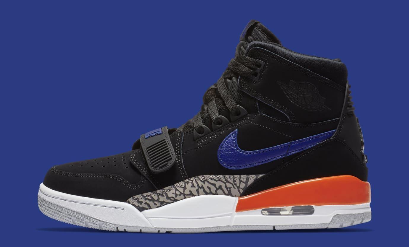 Jordan Legacy 312 Knicks Av3822 048 Lateral Jordans Sneaker Head Sneakers