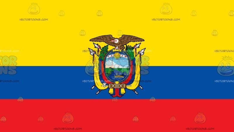 Flag Of Ecuador Ecuador Flag Flag National Flag