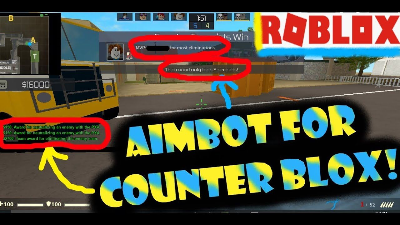 Roblox Really Cool And Op Script For Counter Blox Aimbot Roblox