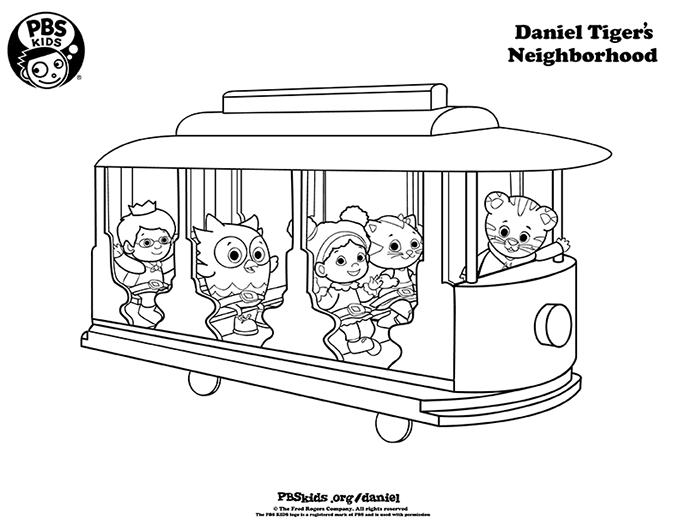 épinglé Par Lmi Kids Sur Daniel Tiger S Neighborhood Le
