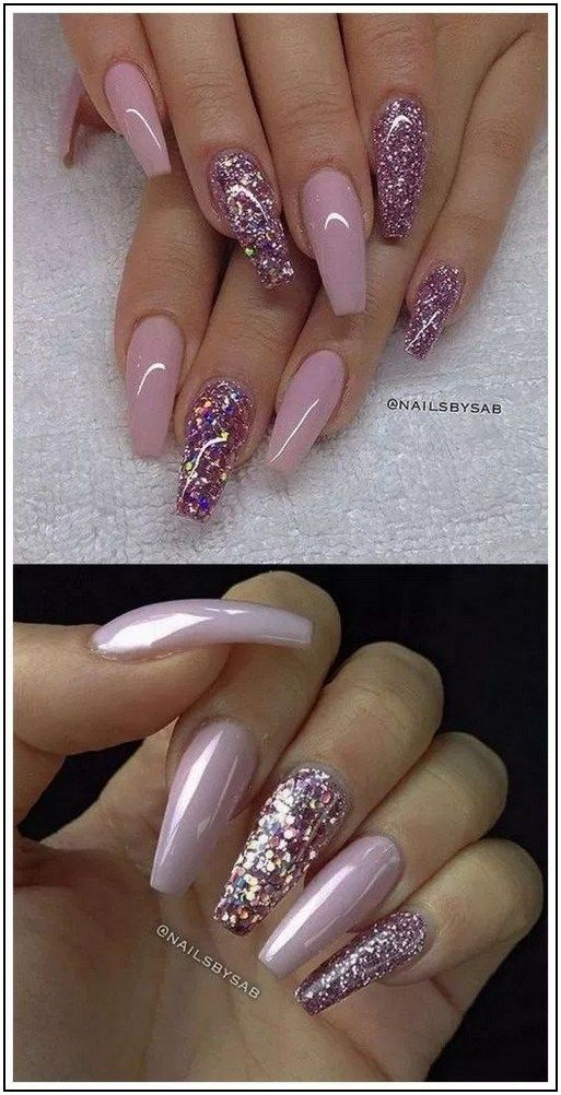 Top 100 Acrylic Nail Designs Of August 2019 Page 26 Armaweb07 Com Pink Nail Art Nail Designs Pink Nail Designs