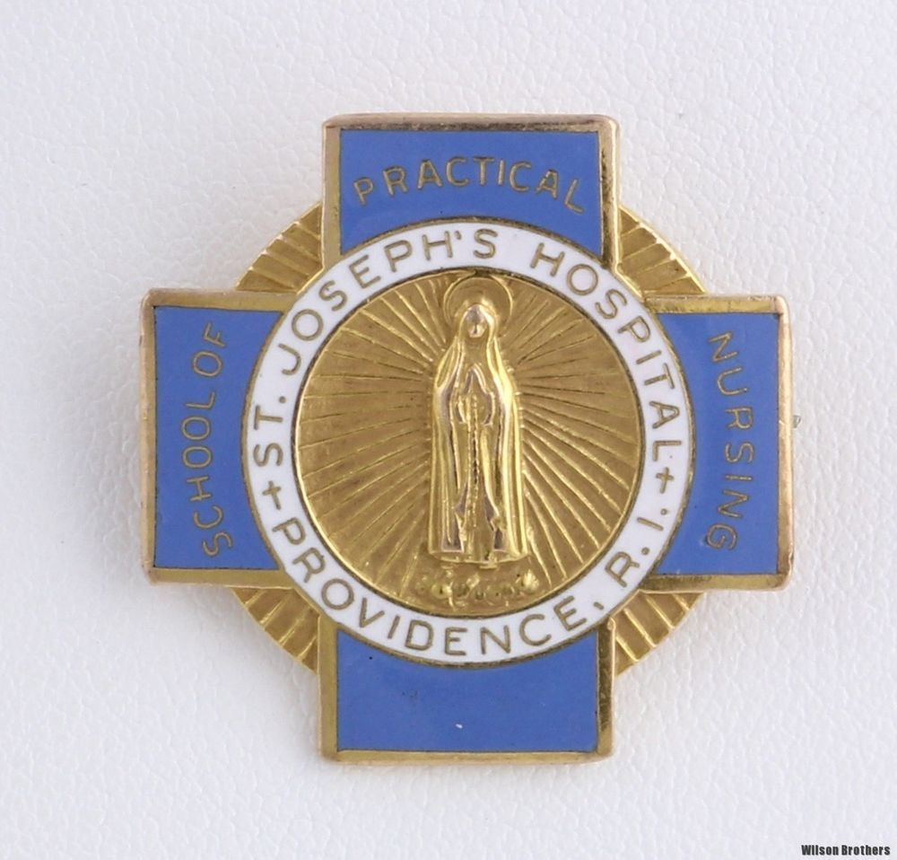 Details about VINTAGE 10K GOLD ST FRANCIS HOSPITAL SCHOOL OF