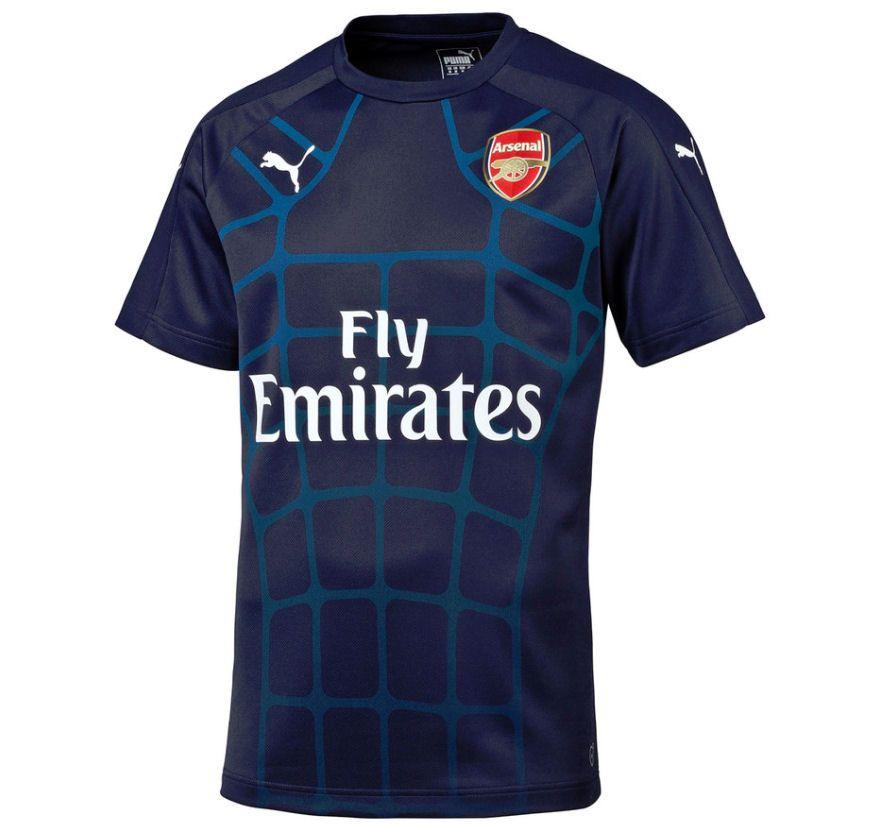 ... shirt 2015-2016 ARSENAL PUMA STADIUM JERSEY (NAVY) ... eddd8909b