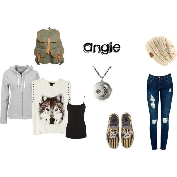 """Angie"" by wolfangie44 on Polyvore"