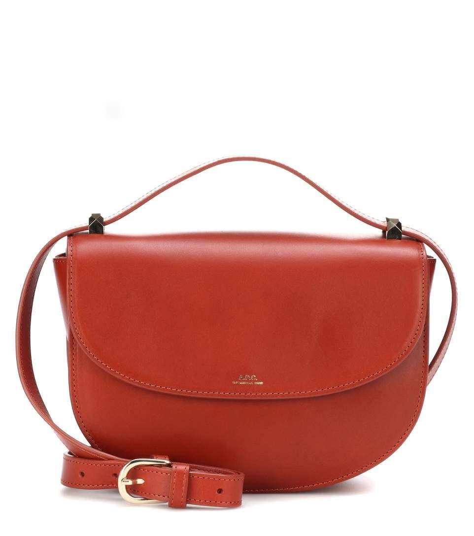 Geneve Leather Shoulder Bag - Tan A.P.C. AEVayS