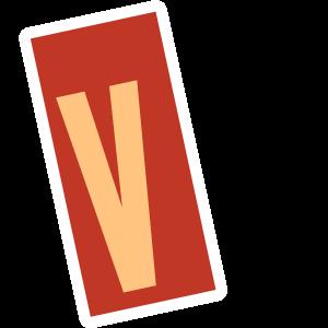 Ransom Alphabet Letter V Lettering Alphabet Letter Stickers Letter V