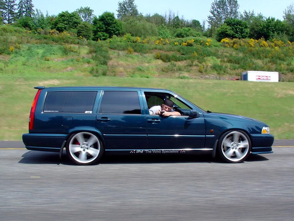1998 v70 t5m one of a kind modded more than you ever thought possible