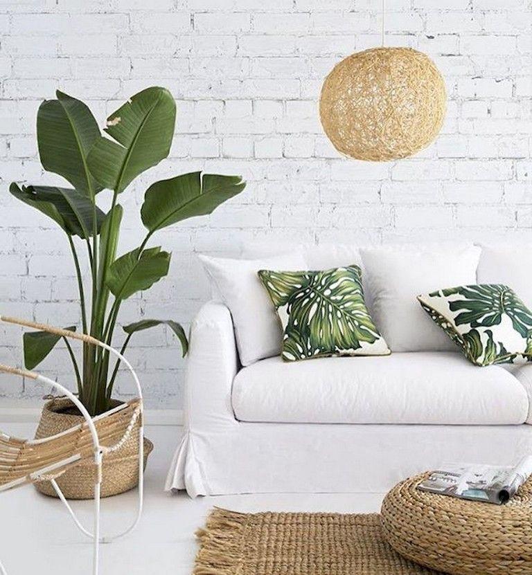 48 Marvelous Shabby Chic Living Room Brick Wall Decoration Ideas Com Imagens #shabby #chic #living #room #wall #decor