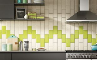 Wickes Metro Cream Ceramic Tile 200 x 100mm | Ceramic wall tiles ...