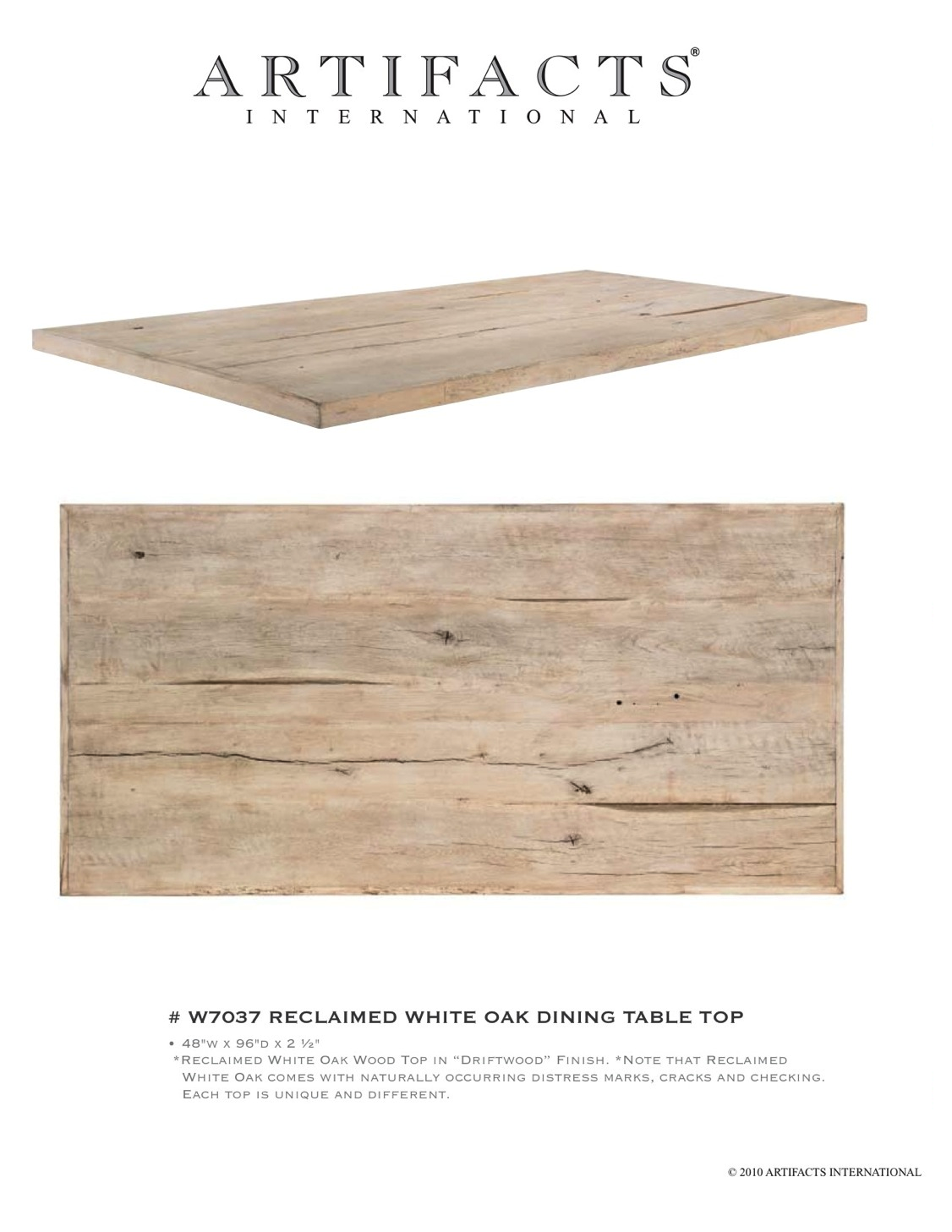 Reclaimed Oak Table Top For The Home Pinterest Oak Table Top - Reclaimed oak table top
