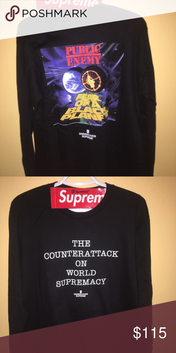 more photos c2eef 7ca87 Supreme Undercover Public Enemy Long Sleeve 100% DS Open To Offers And  Trades StockX Authenticated Supreme Shirts Tees - Long Sleeve
