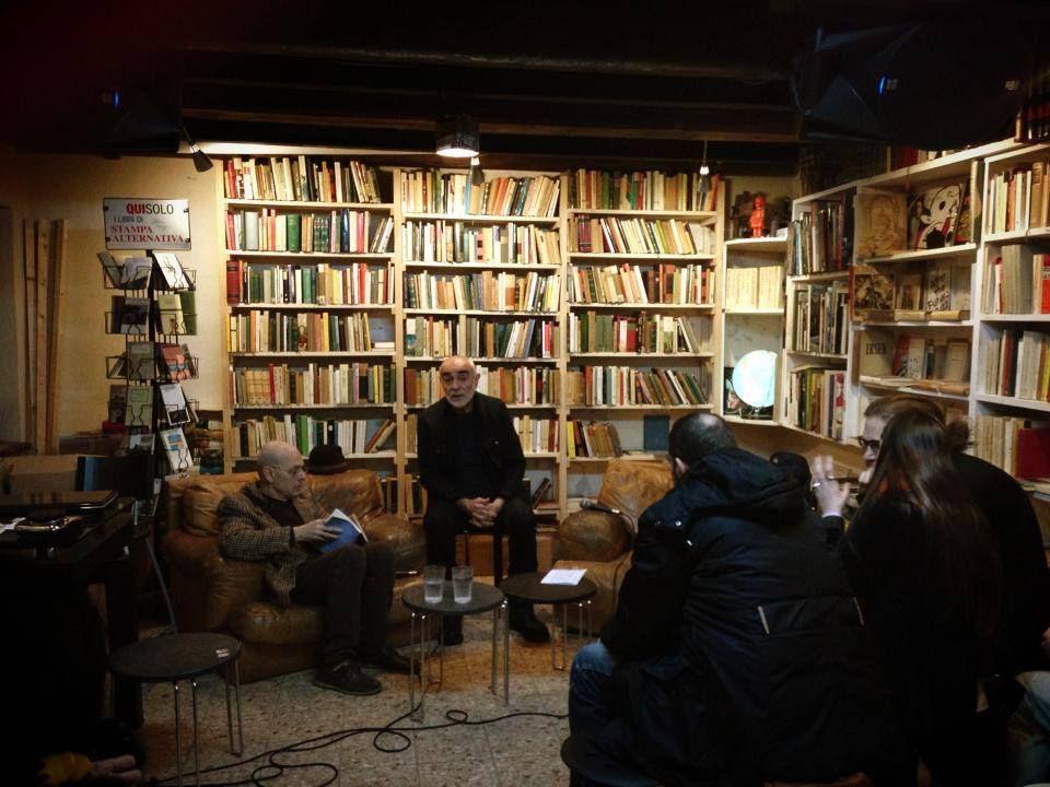 Valerio Romitelli e Rudy Leonelli alla Libreria Modo Infoshop di Bologna 16 aprile 2014