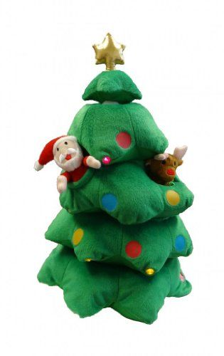 Singing Christmas Tree Santa Reindeer Snowman Musical Plush Toy with Motion