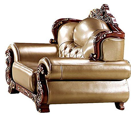 Best Amazon Com Ma Xiaoying Solid Wood Frame Carved By Hands Leather Traditional Collection Living 400 x 300