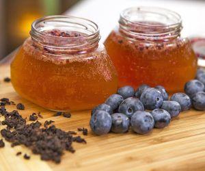 Blueberry Kombucha Tea