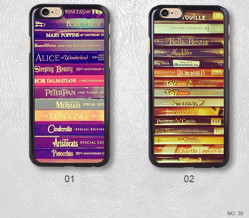 Disney Story Books Protective Phone Case For iPhone case & Samsung case, H30