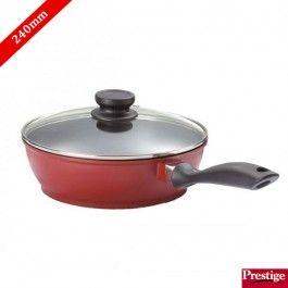 Prestige Pan Buy Prestige Omega Die Cast Non Stick Deep Fry Pan 240 Mm With Lid Online Deep Fried Frying Pan Pan