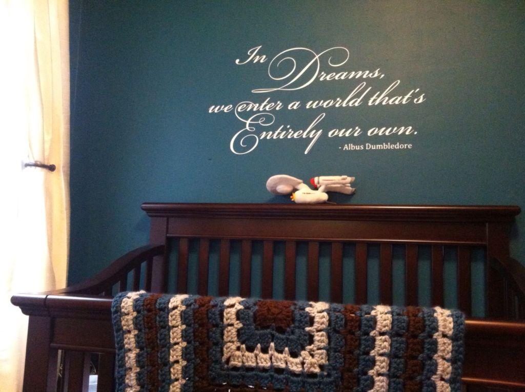 Nerdsery Baby Nursery Full Of Star Wars And Harry Potter Star Wars Baby Room Grey Baby Nursery Harry Potter Nursery