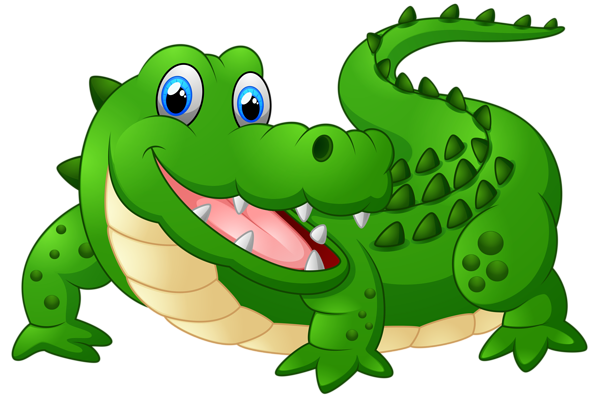 Happy Crocodile Cartoon PNG Clipart Image | Clip Arts ...