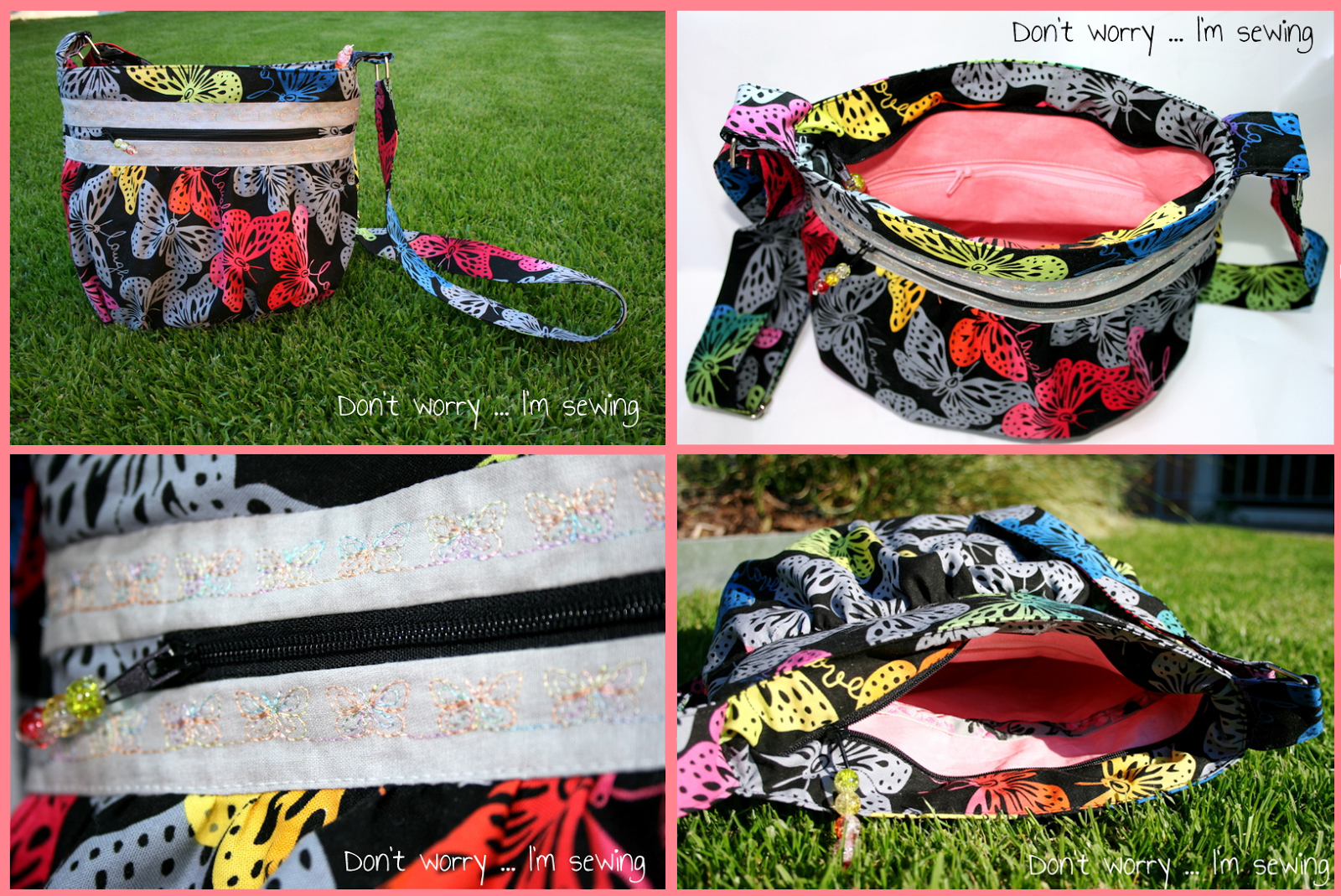 Handtasche KIRA nach meinem freebook - von Don't worry ... I'm sewing