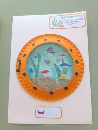 trabajos manuales sobre el oceano con niños」の画像検索結果 summer