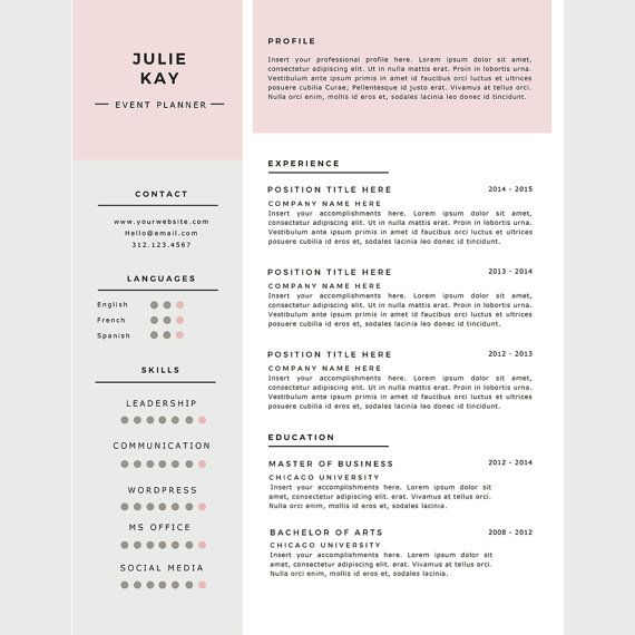 Resume Reference Page Template Promo Code Buy Two For $20 Use Code Rgtwo  Download This