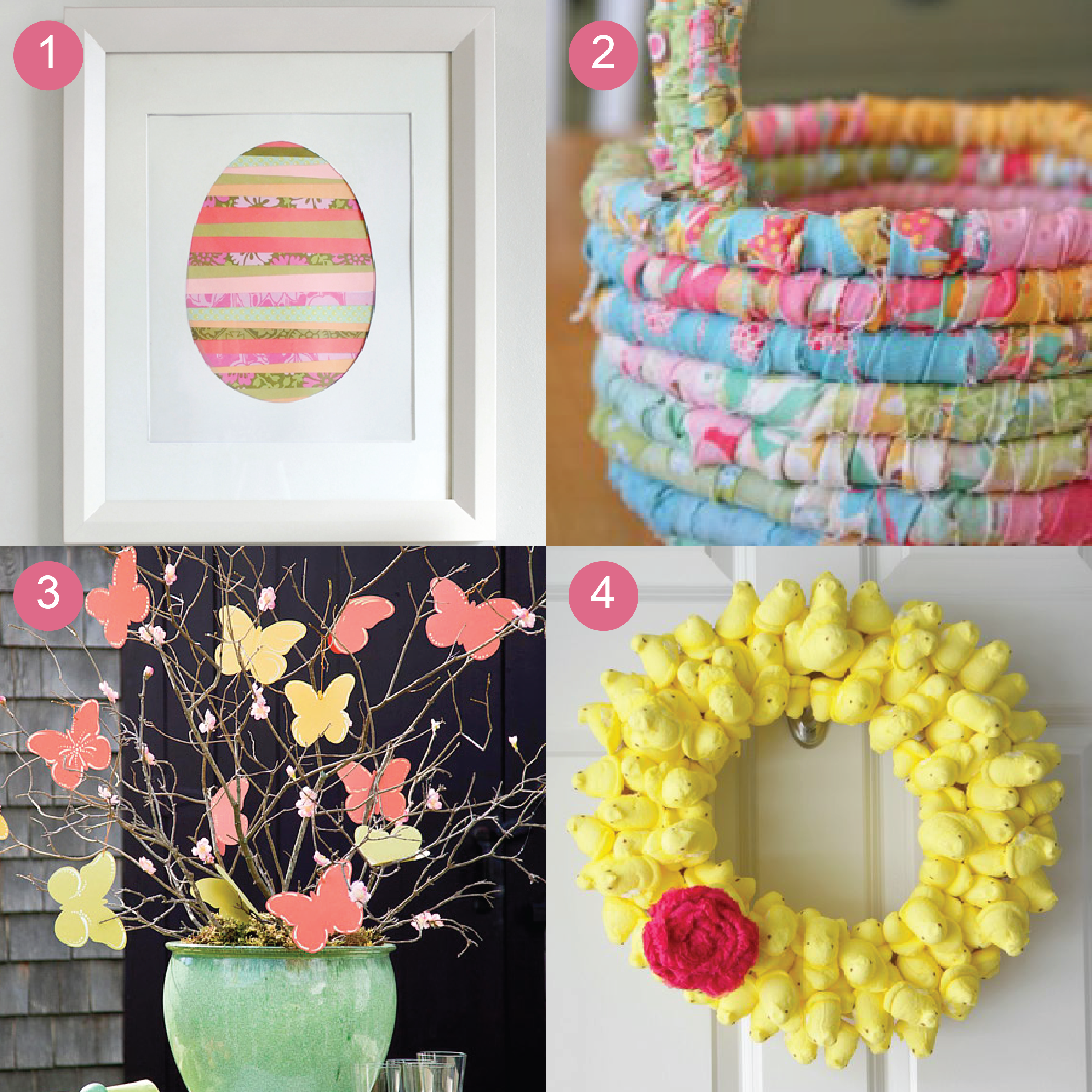Stunning collections of easter crafts idea showing framed for Art and craft file decoration
