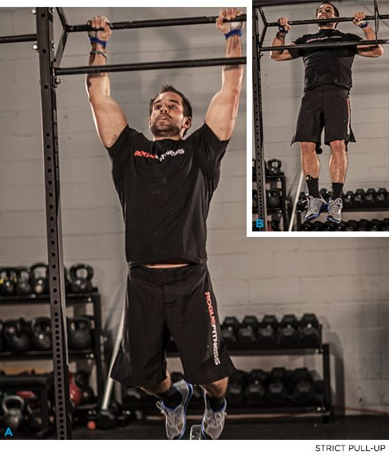 Train With The Worlds Fittest Man: Rich Froning CrossFit Workout! - PUSH PRESS - Bodybuilding.com