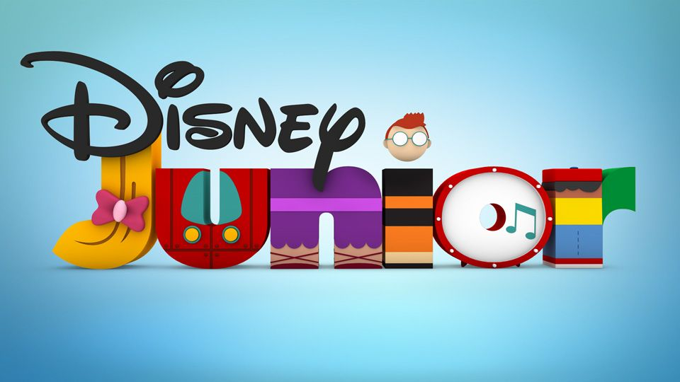 Little Einsteins DJR Logos Disney junior, Disney logo