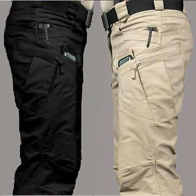 Mens Outdoor Military City Tactical Combat Trousers Hiking Camping Casual  Pants