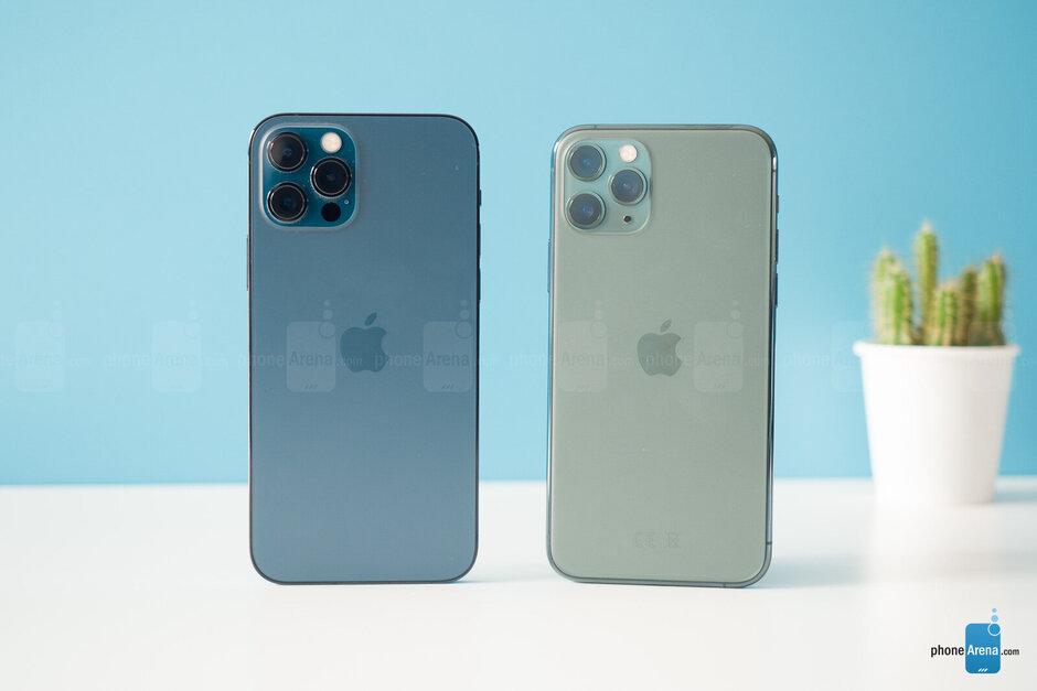 Apple Iphone 12 Pro Max Vs Iphone 11 Pro Max Phonearena Iphone Apple Iphone Iphone 11