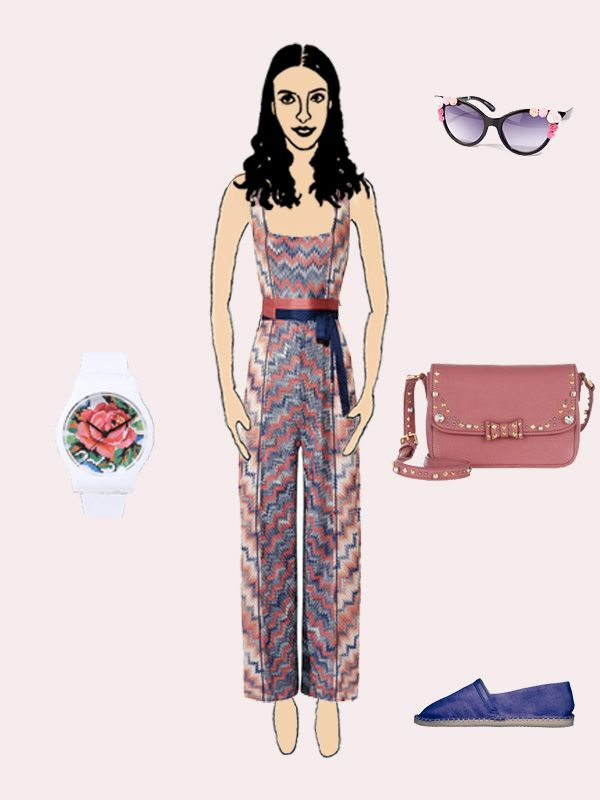 Create your very own outfit on bobos.it with Missoni Jumpsuit from SS 2013 Collection