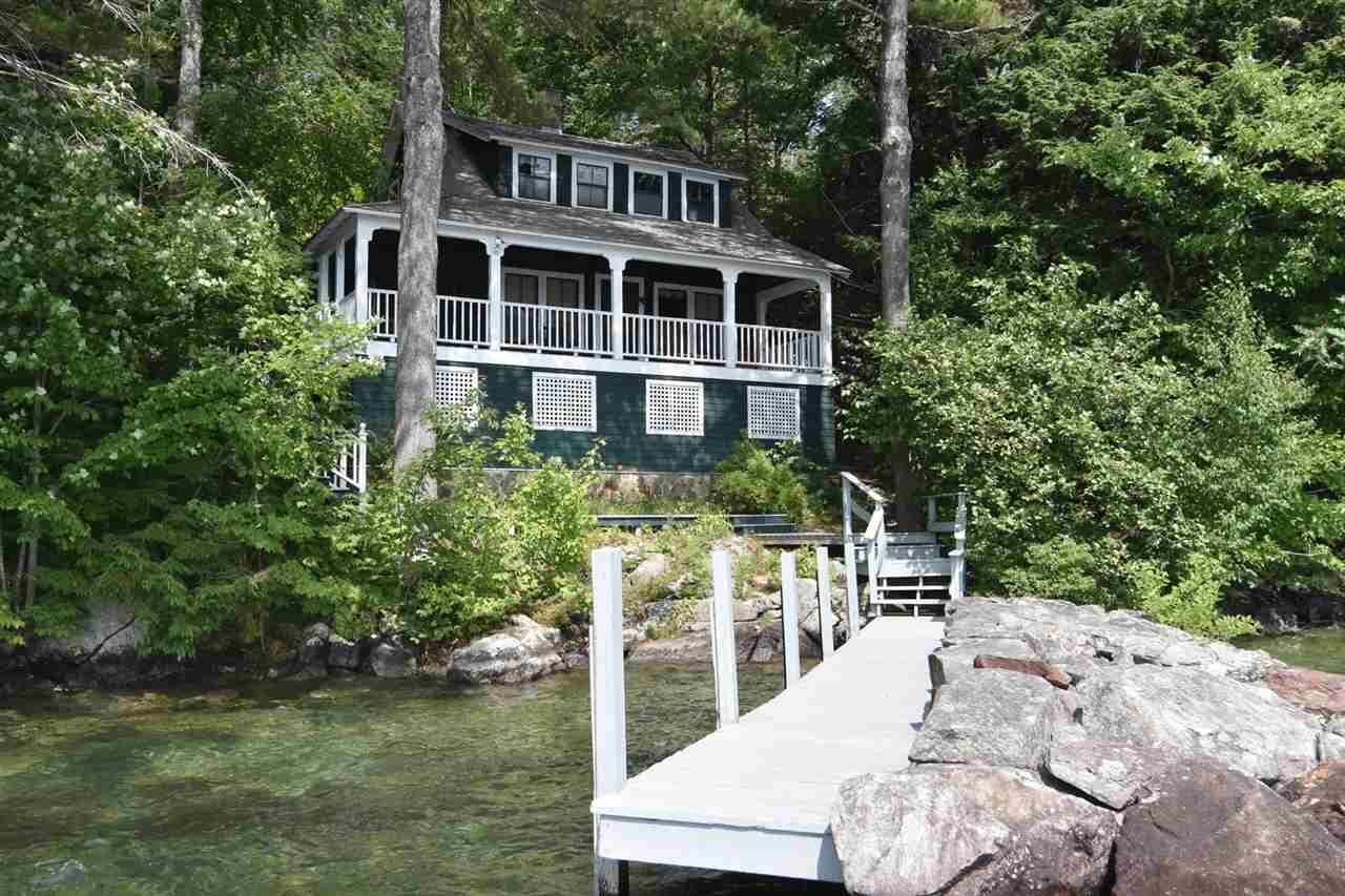7 Lockes Island, Gilford, NH 03249 Waterfront homes for