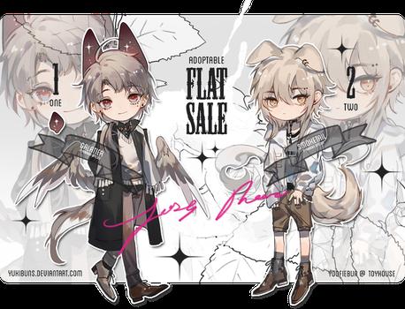 [mixed batch] flat sale [closed] by yukibuns Character