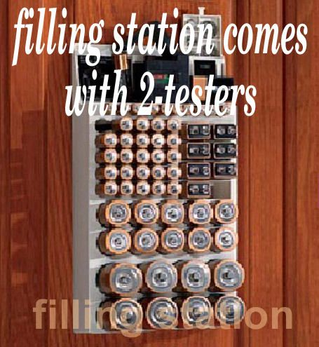 Image Detail For  ... Battery Tester Organizer Wkt4162 Range Kleen Battery  Storage Unit