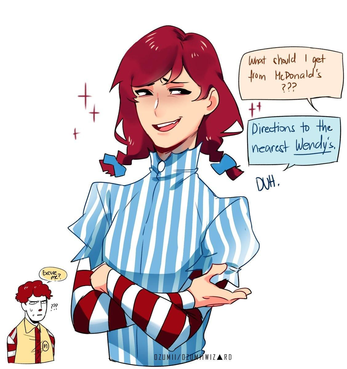 What Should I Get From Mcdonald S Anime Wendy Anime Anime