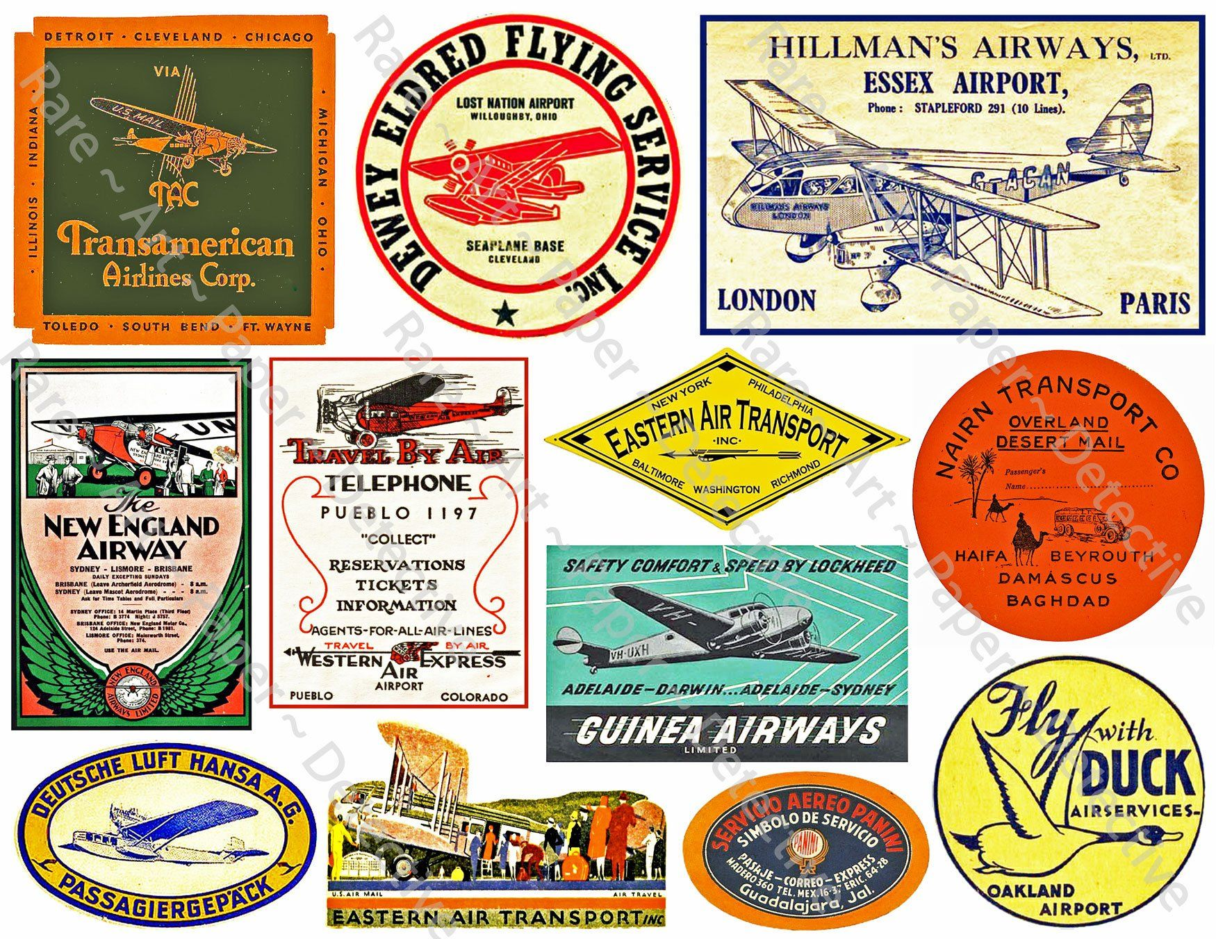Airline Luggage Labels Printed Sheet Airplane Decals Plane Clip Art Journal Tags Travel Adventure Suit Luggage Labels Printed Sheets Traveling By Yourself [ 1352 x 1750 Pixel ]