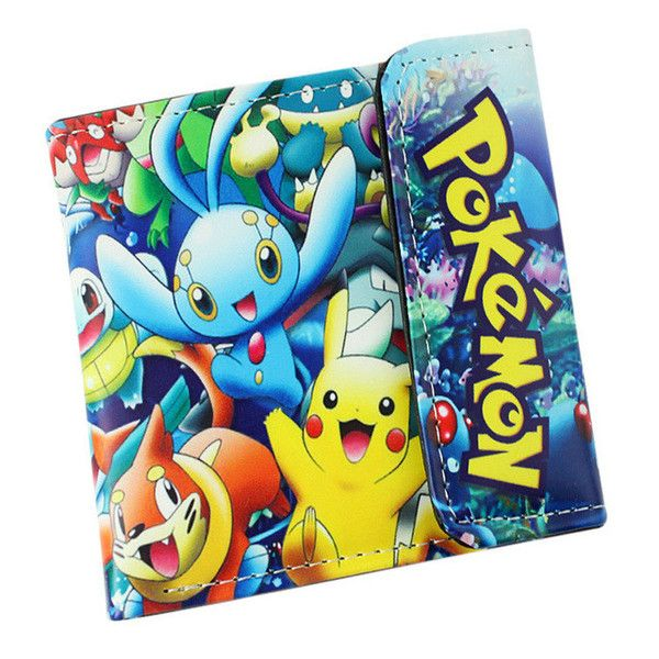 Pokemon Pikachu & Friends Short Style Anime Wallet - OtakuForest.com