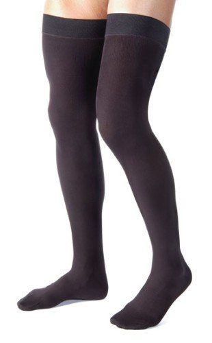 99ab0999929 Jobst For Men Thigh High 20-30mmHg Ribbed Closed Toe