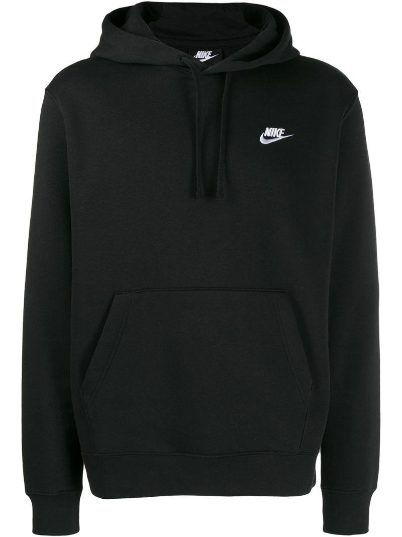Nike Embroidered Logo Hoodie Black Nike Hoodies For Women Black Nike Hoodie Nike Hoodie Outfit [ 1067 x 800 Pixel ]