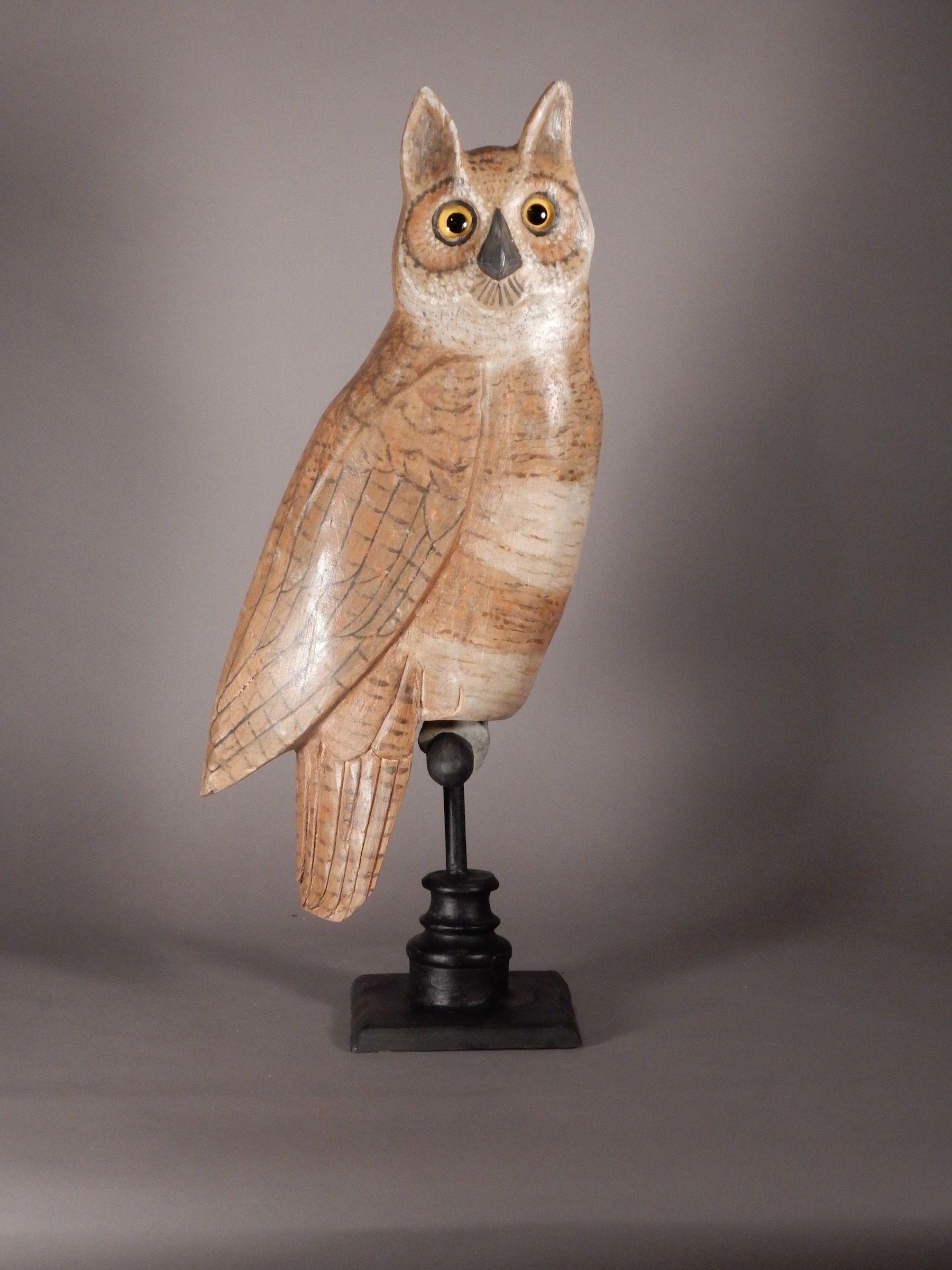 GreatHorned Owl Decoy by JayDMiles http//www