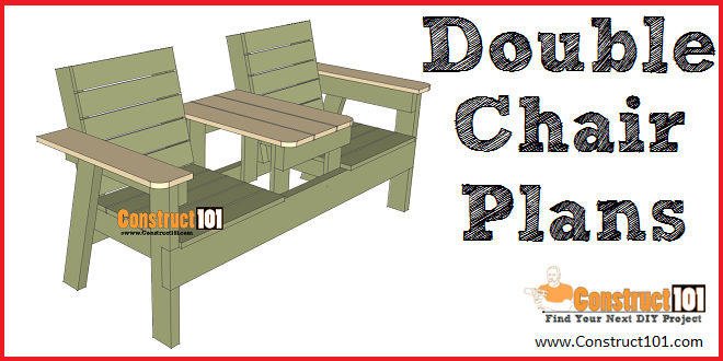 Surprising Double Chair Bench Plans Step By Step Plans Hobby Caraccident5 Cool Chair Designs And Ideas Caraccident5Info