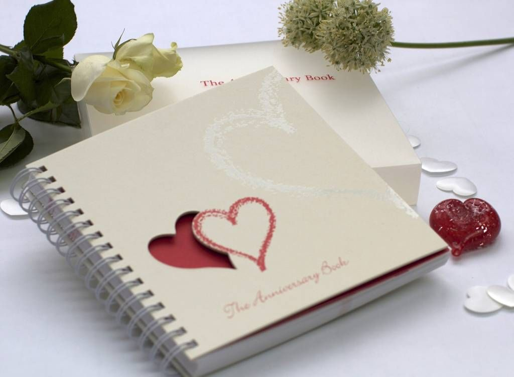 1st to 50th wedding anniversary memory book wedding anniversary