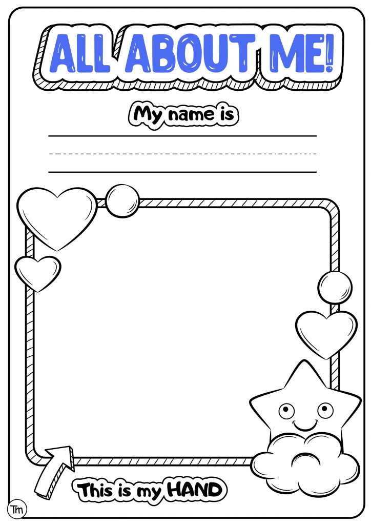 FREE Printable All About Me Pack for Preschool and ...
